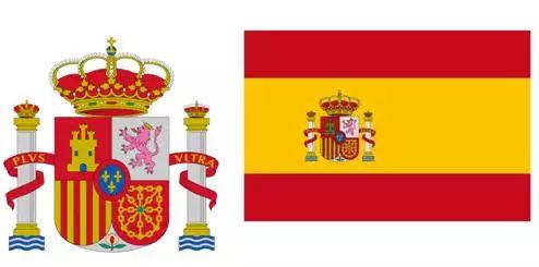 西班牙国徽,国旗图片