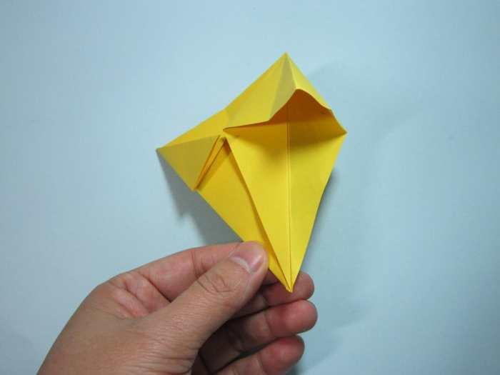手工折纸金元宝 元宝折纸详细图解教程