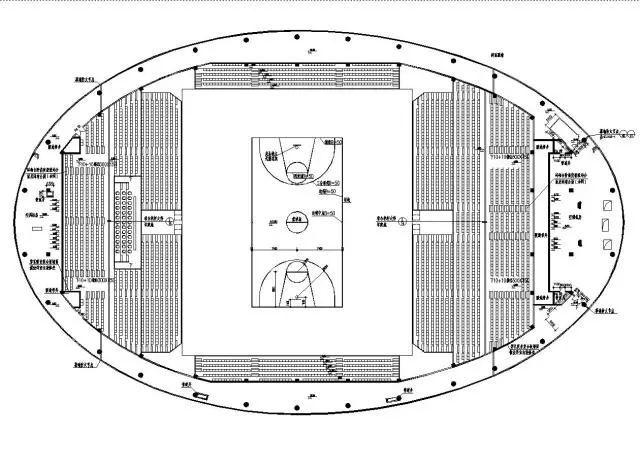 体育馆平面图