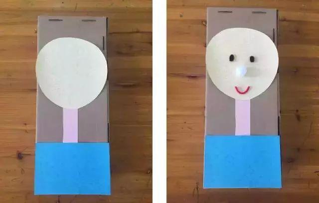 旧纸盒手工制作张大嘴巴
