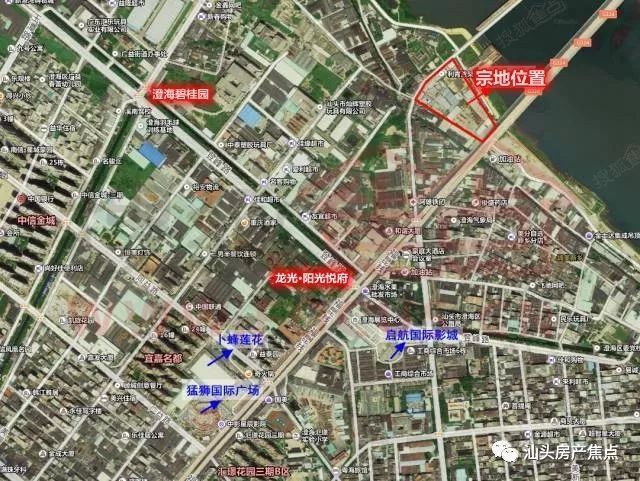 潮阳东部新城规划图