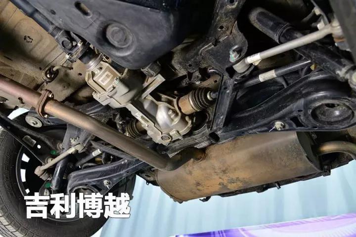 博越vs途观l 底盘结构和悬架用料_郑州华星吉利汽车
