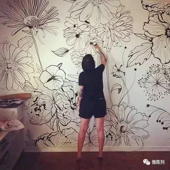 墙绘 涂鸦图片