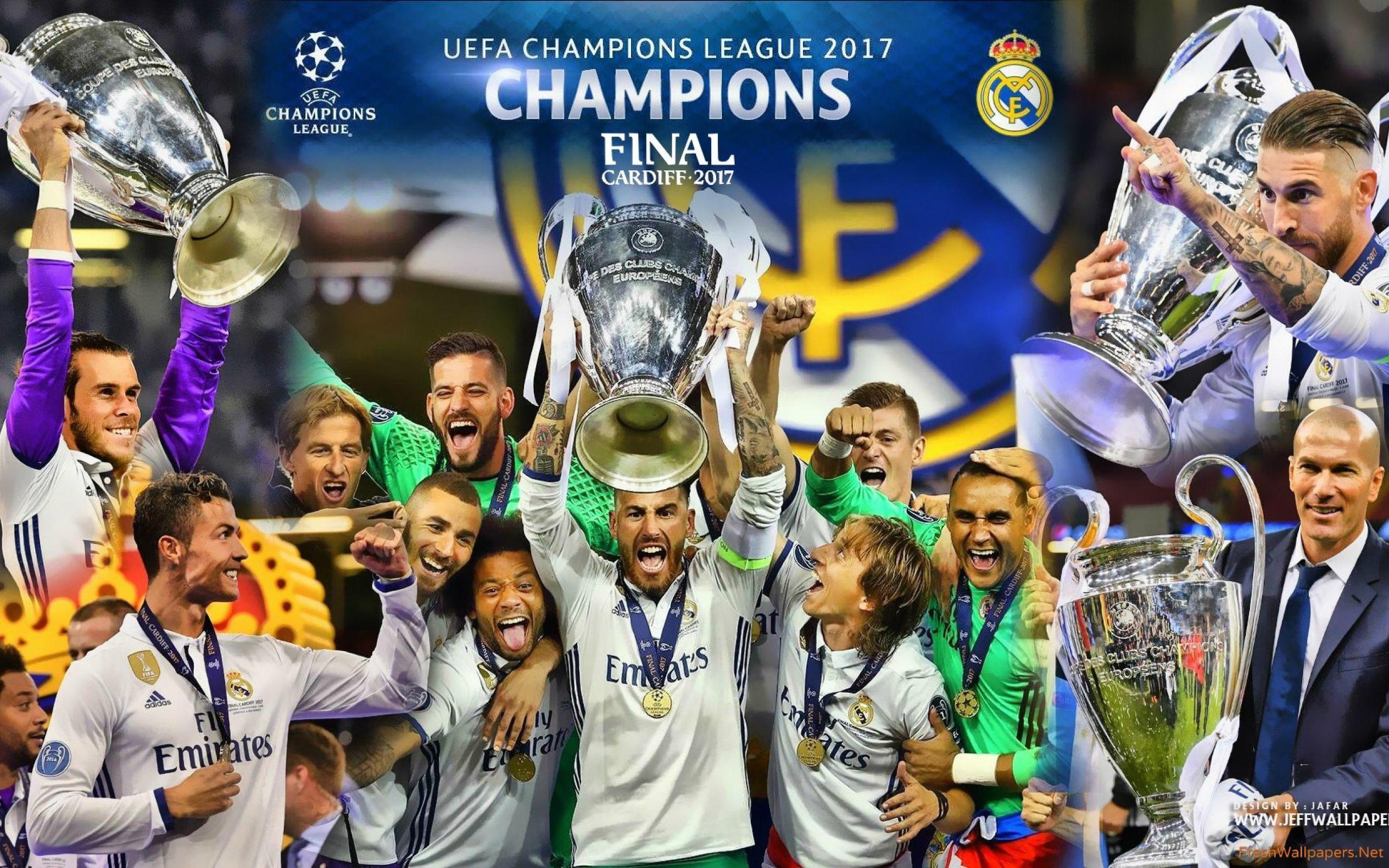 2016/17欧洲冠军联赛冠军:皇家马德里(西班牙)图片