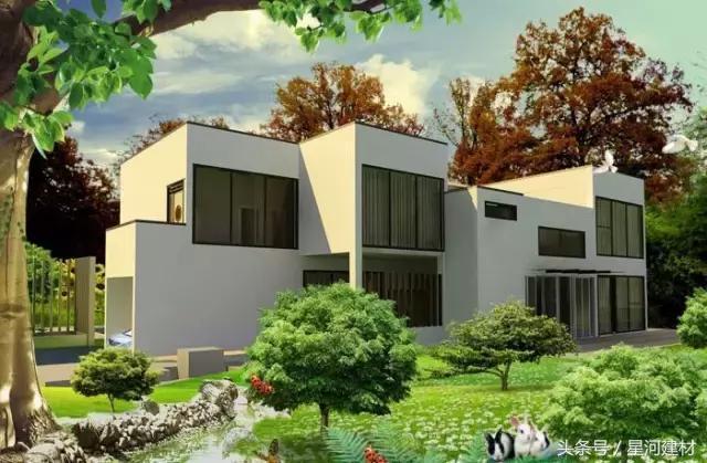 12套平屋顶农村自建房设计效果图,南方北方都适用