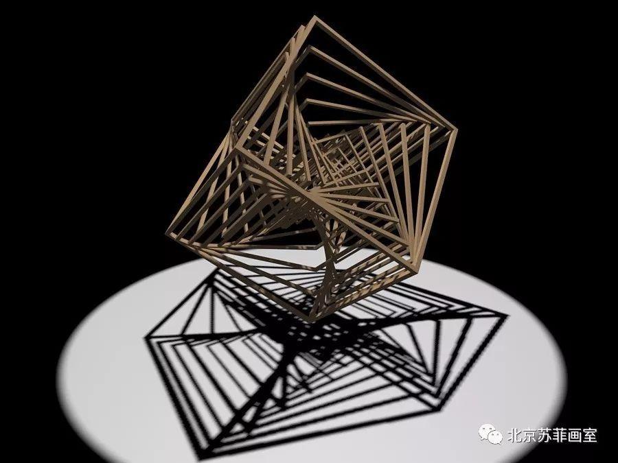 立体构成所涉及的学科建筑设计,景观设计,室内设计,工业造型,雕塑图片