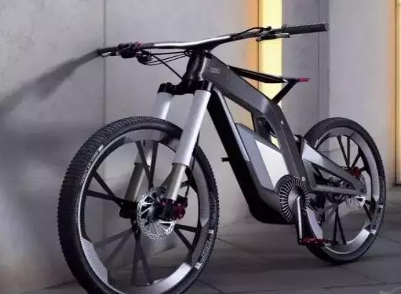 全碳纤维材质搭载 奥迪电动自行车曝光