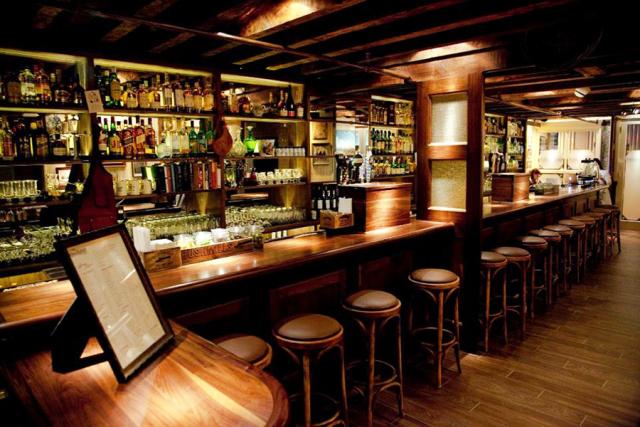 酒吧吧台设计装饰案例装修效果图_一起装修网