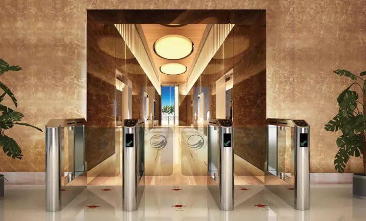 办公大厦作为菏泽唯一超5a甲级写字楼,唯有的1000㎡超豪华入户大堂图片