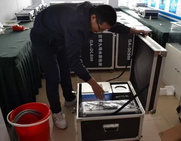 9项水质检测仪发货检查