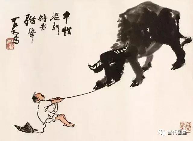 性情中人李可染:山水大家的牧牛情调