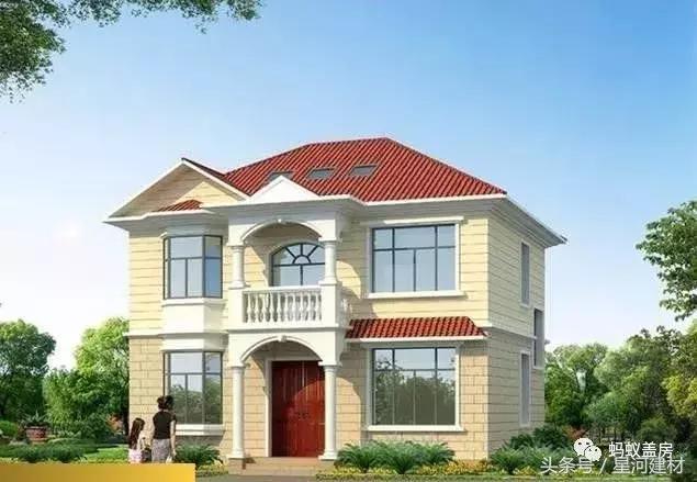 盖房子阳台设计图