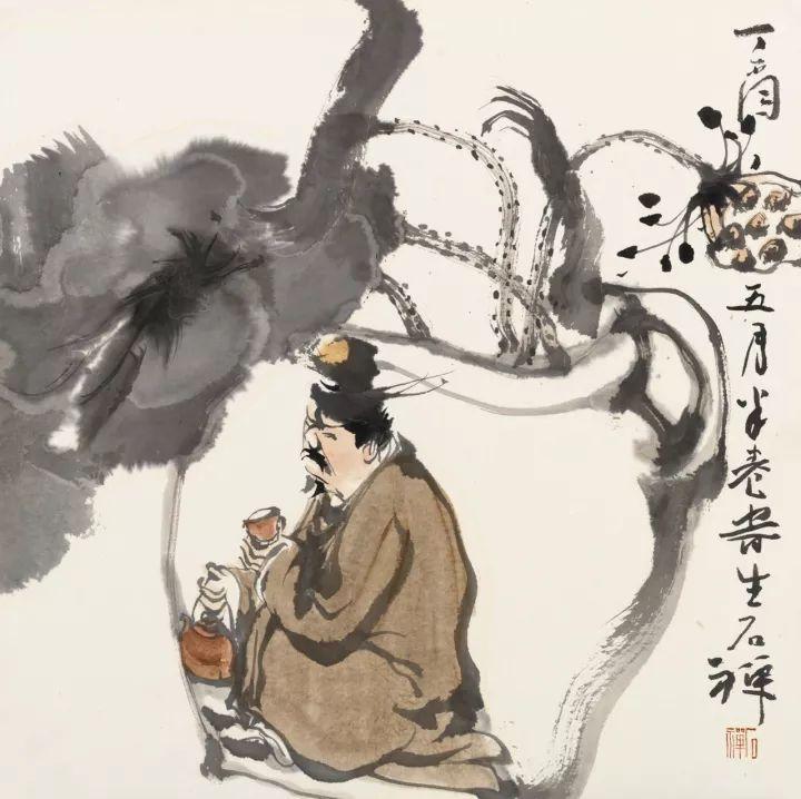 《海上清风》--四人水墨画联展【江南收藏展会活动】图片