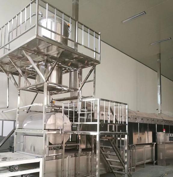全自动化淀粉水晶粉丝机生产线设备