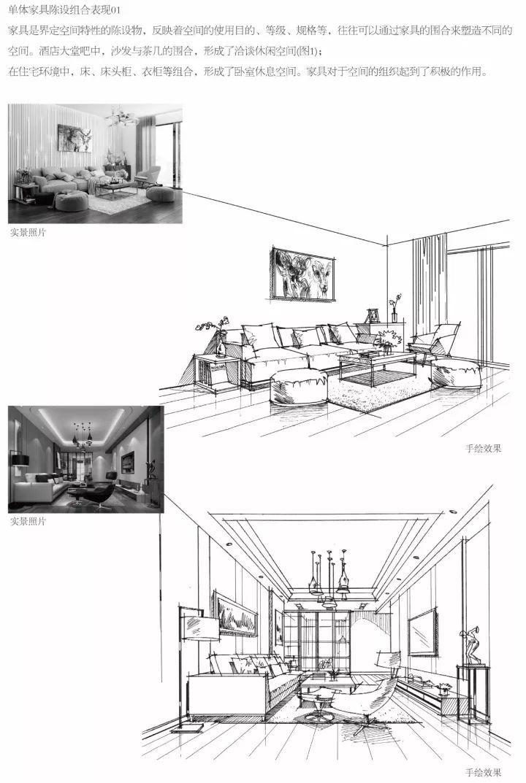 新书|《室内设计手绘线稿基础教程》