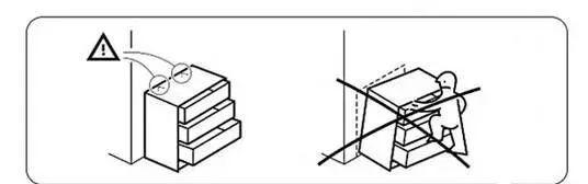 柜子手绘款式图