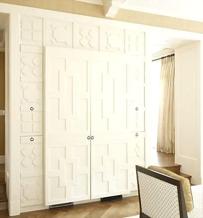 免漆壁柜装修效果图