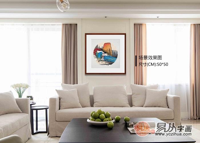 常见的居家装饰画挂法总结11条速来收藏了