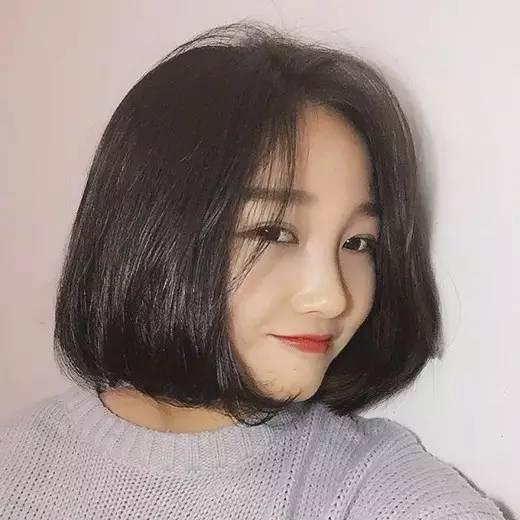 圆脸女生适合的短发,简直美翻了图片