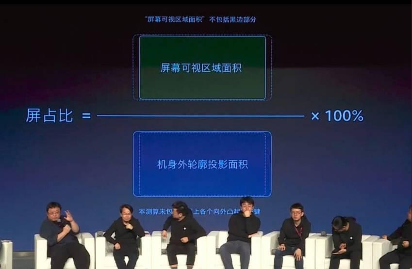 """罗永浩揭秘主流全面屏手机""""真实""""屏占比的照片 - 1"""