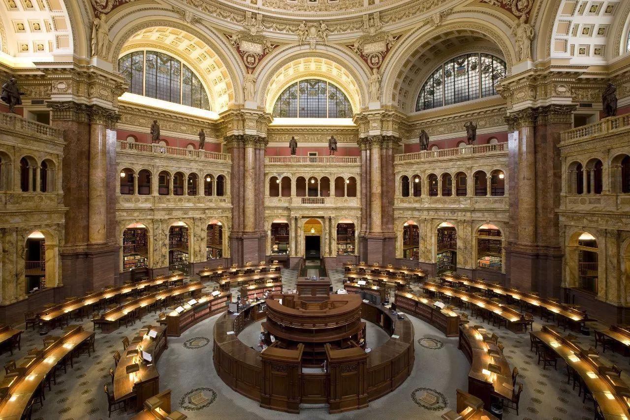 老钱推荐 推荐经典|天堂的模样——美国国会图书馆图片