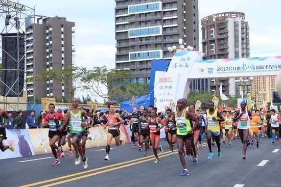 2017东山岛国际马拉松落幕_非洲选手包揽冠军