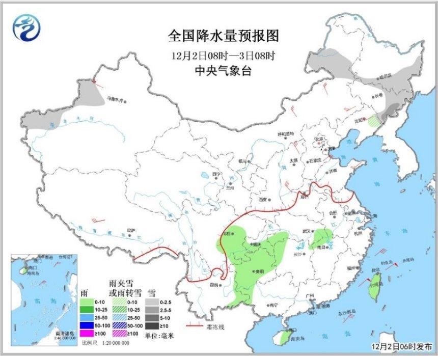 冷空气将影响中东部 华北黄淮大气扩散条件差