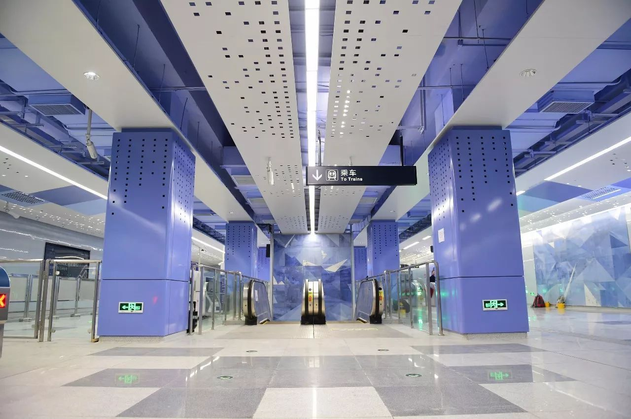 商业广告)的设计目标,在设计阶段统筹地铁车站公共空间装修设计,优化
