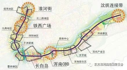 雷恩地铁线路图RennesMetro