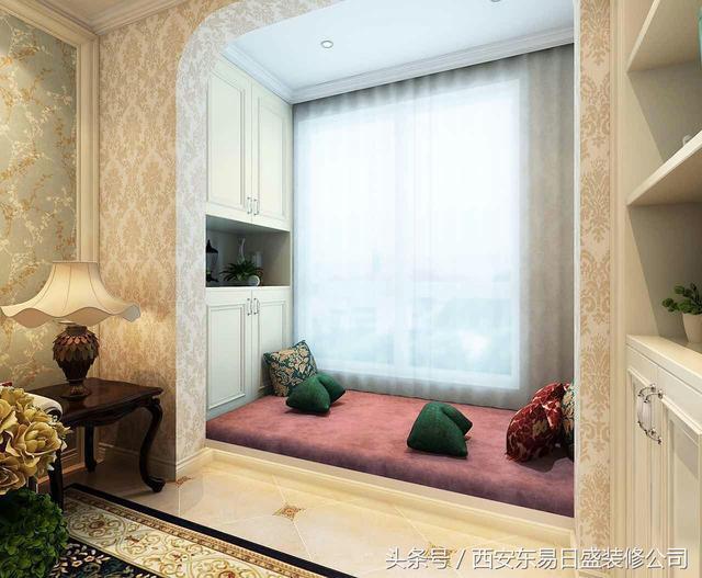 莱安逸辉 简欧风格装修效果图 一室一厅80平米 低调奢华上档次图片