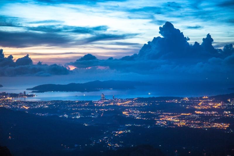 世界三大观赏日落地/沙巴:有一个地方几乎没有中国游客