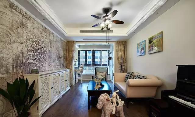 七种客厅,电视背景墙图片