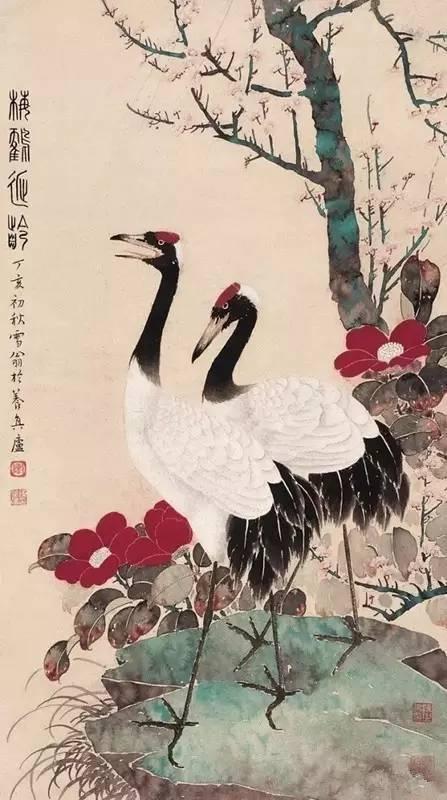 鸟 在中国古代花鸟画中的作用