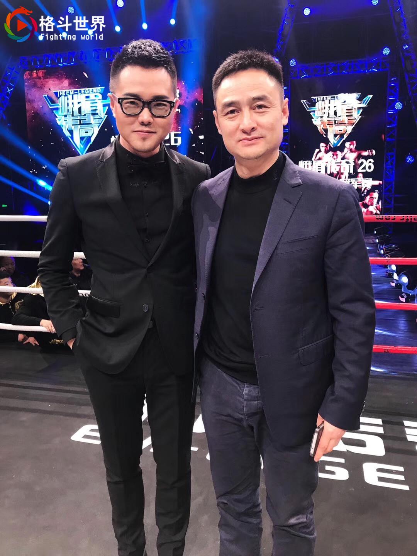 峨眉电影频道主持人陈旭莹_梅家祥(图右)和峨眉传奇主持人