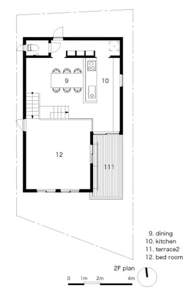 农村小别墅设计图占地面积60平米(深11×宽5.5),求.