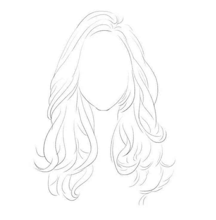 比如文静的女生适合直发,活泼的女生适合卷发等.图片