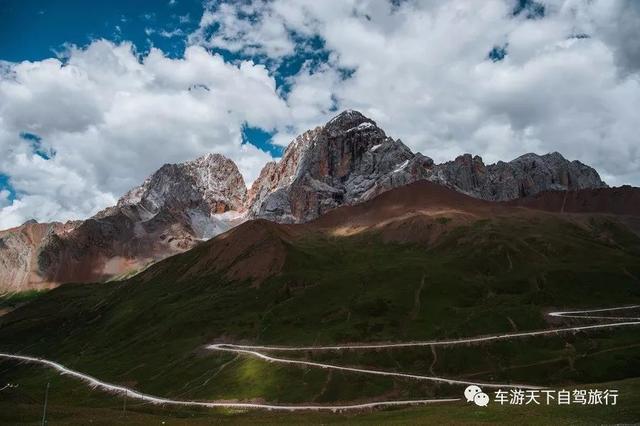 中国最美自驾县道甘百路,317国道上最惊艳的观光旅游线!