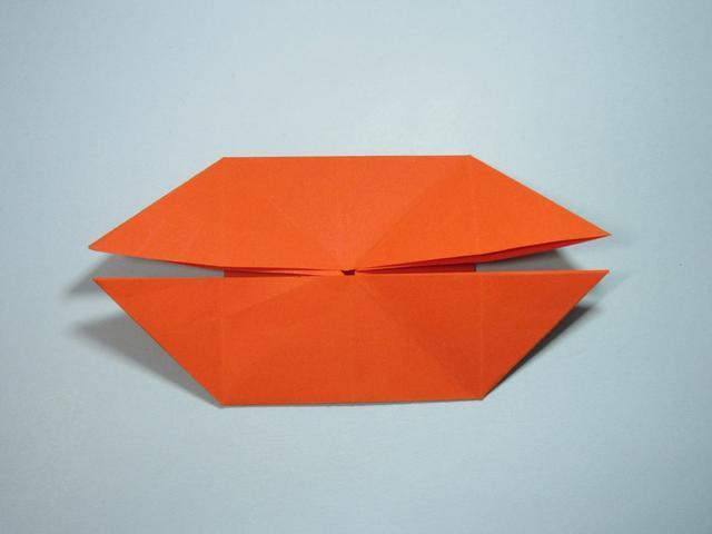 儿童手工折纸蝴蝶 凤尾蝶的折法详细图解