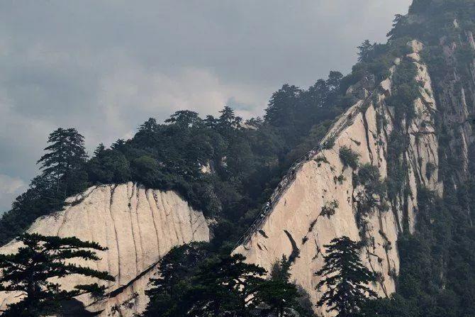 華山之險位居五岳之首.圖片