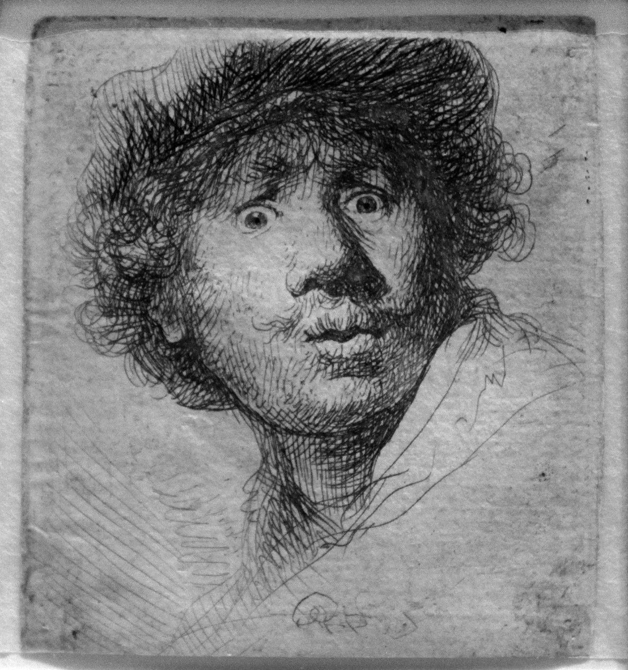 即可收听安格尔笔下刚洗完澡的女生 伦勃朗从13岁就开始给自己画肖像图片