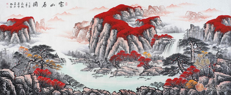 家居挂画选什么画好?选择山水画选择传统艺术美