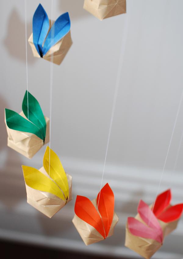 幼儿园diy手工制作小鸡 兔子(手工 吊饰)