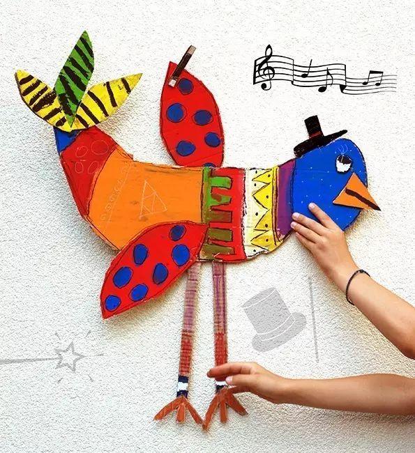 幼儿园diy手工制作小鸡 兔子(手工 吊饰)图片