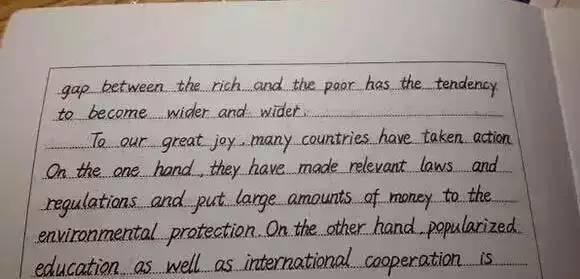高考英语作文写成这样,阅卷老师分分钟都想给满分!
