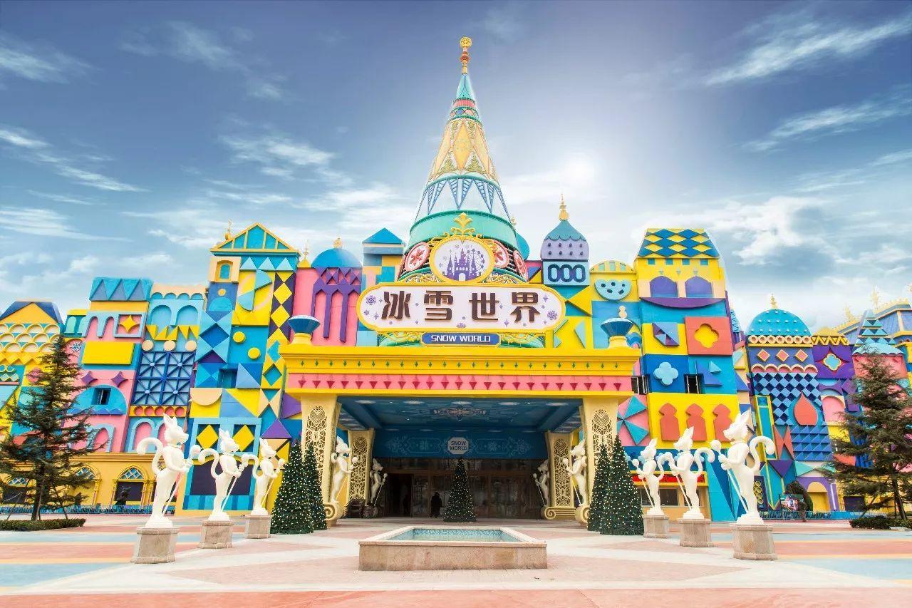 别去哈尔滨了 郑州新添一座冰雪大世界,花样巨多,一天根本玩不够