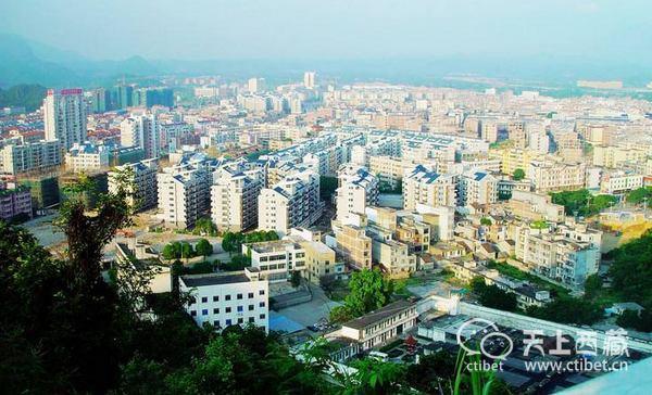 广西唯一一个全国百强县,矿产遍布全县,年生产总值超百亿