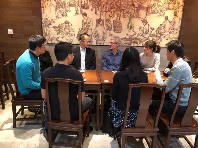 德赢平台库克与王兴上海吃包子馄饨还邀请把