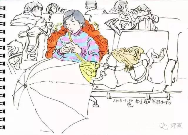清华美院吴冠英老师的手绘日记