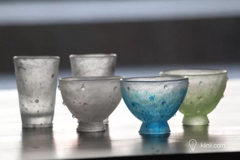 玻璃器上的四季之美