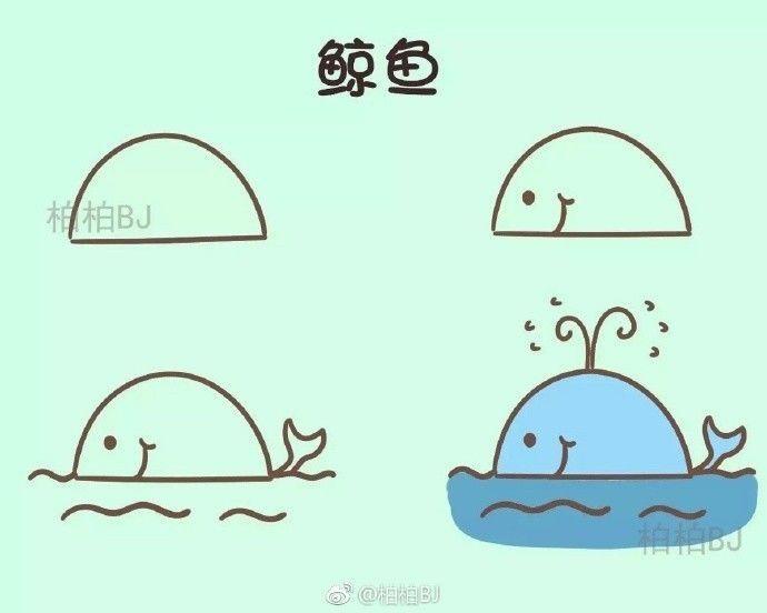 一个几何图形就能搞定的小动物,幼师麻麻收藏好!(附视频教程)图片